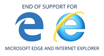 end of support for internet explorer and microsoft edge