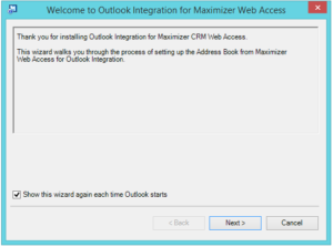 Welcome to Outlook Integration