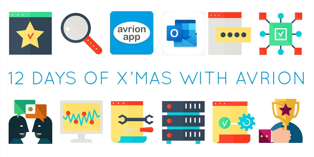 12 days of christmas with avrion