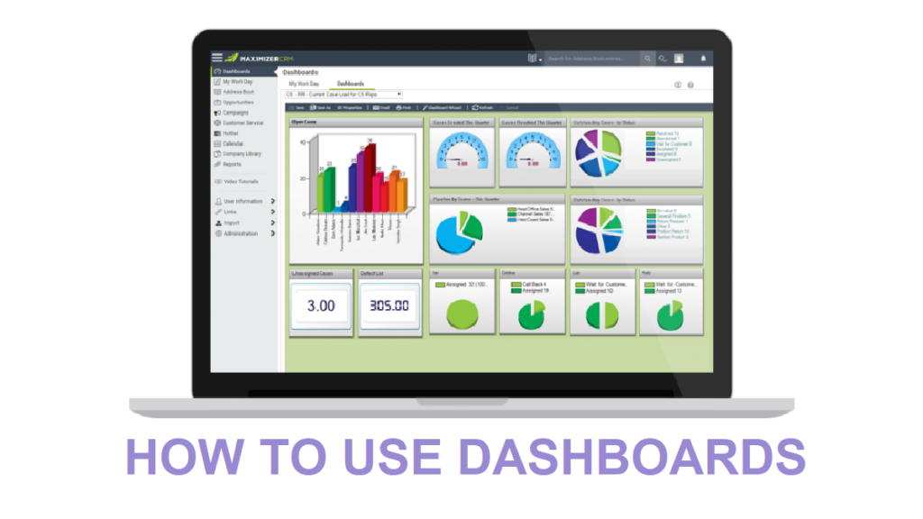 CRM dashboards