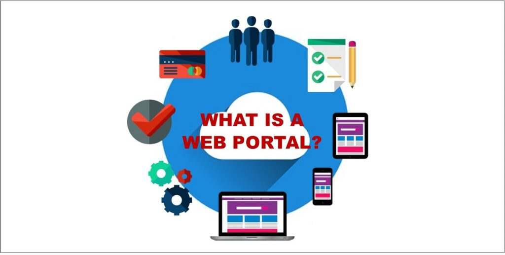 what is a web portal
