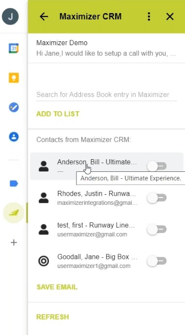 MaximizerCRM gmail integration 02