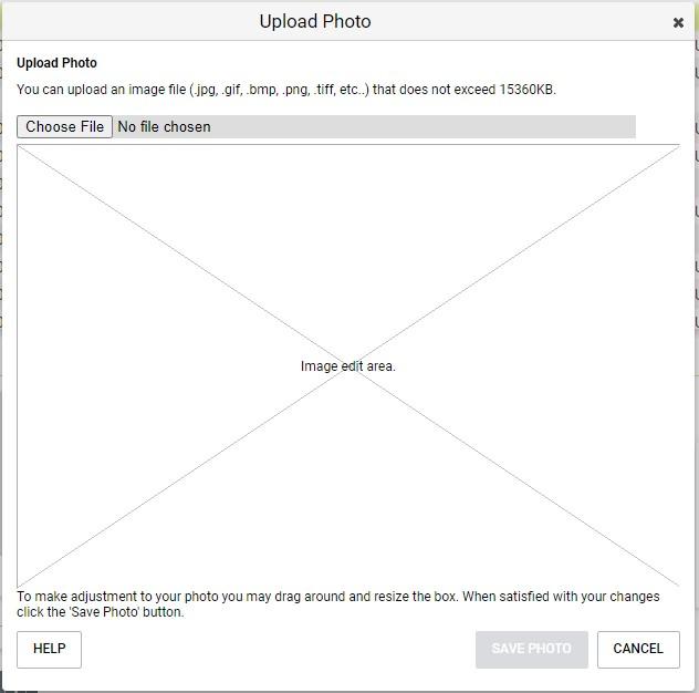 Adding photos in Maximizer