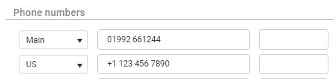 maximizercrm auto format phone number