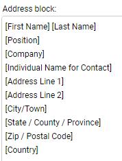 Maximizer CRM address book preference