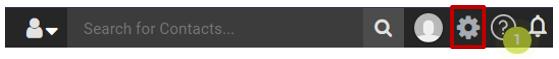 Set up Maimizer CRM preferences toolbar